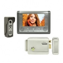 Kit Interfon video SilverCloud House 715 cu ecran LCD de 7 inch si Yala electromagnetica YL500
