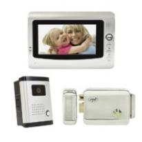Kit interfon video cu 1 monitor PNI DF-926 ecran LCD de 7 inch si yala electromagnetica PNI H1085A