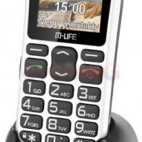 Telefon Mobil M-Life, 2G, Bluetooth Alb