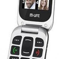 Telefon mobil M-LIFE pentru seniori