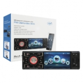 MP5 player auto PNI Clementine 9545 1DIN display 4 inch 50Wx4 Bluetooth radio FM SD si USB 1