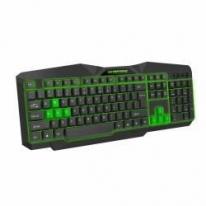 Tastatura USB gaming iluminata LED verde TRIONS Esperanza