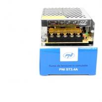 Sursa de tensiune in comutatie PNI ST3.4A 12V 3.4A stabilizata pentru sisteme de supraveghere