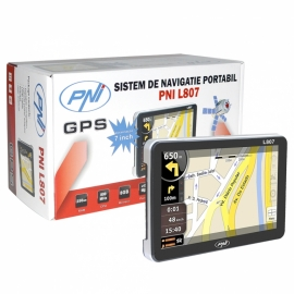 GPS PNI L807 Cu Harti Pentru Camioane 2