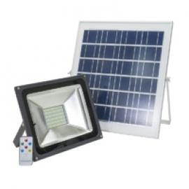 Reflector LED 50W PNI GreenHouse WS50 cu panou solar si acumulator 1
