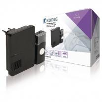 Sonerie Wireless 70 dB neagra KONIG